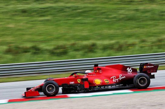 Charles Leclerc (MON) Ferrari SF-21. 02.07.2021. Formula 1 World Championship, Rd 9, Austrian Grand Prix, Spielberg, Austria, Practice Day. - www.xpbimages.com, EMail: requests@xpbimages.com © Copyright: Charniaux / XPB Images