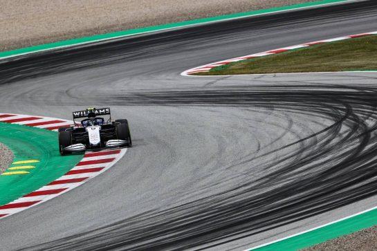 Nicholas Latifi (CDN), Williams Racing 02.07.2021. Formula 1 World Championship, Rd 9, Austrian Grand Prix, Spielberg, Austria, Practice Day.- www.xpbimages.com, EMail: requests@xpbimages.com © Copyright: Charniaux / XPB Images