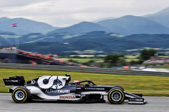 Pierre Gasly (FRA) AlphaTauri AT02. 02.07.2021. Formula 1 World Championship, Rd 9, Austrian Grand Prix, Spielberg, Austria, Practice Day. - www.xpbimages.com, EMail: requests@xpbimages.com © Copyright: Batchelor / XPB Images