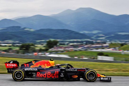 Sergio Perez (MEX) Red Bull Racing RB16B. 02.07.2021. Formula 1 World Championship, Rd 9, Austrian Grand Prix, Spielberg, Austria, Practice Day. - www.xpbimages.com, EMail: requests@xpbimages.com © Copyright: Batchelor / XPB Images