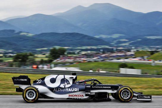 Yuki Tsunoda (JPN) AlphaTauri AT02. 02.07.2021. Formula 1 World Championship, Rd 9, Austrian Grand Prix, Spielberg, Austria, Practice Day. - www.xpbimages.com, EMail: requests@xpbimages.com © Copyright: Batchelor / XPB Images