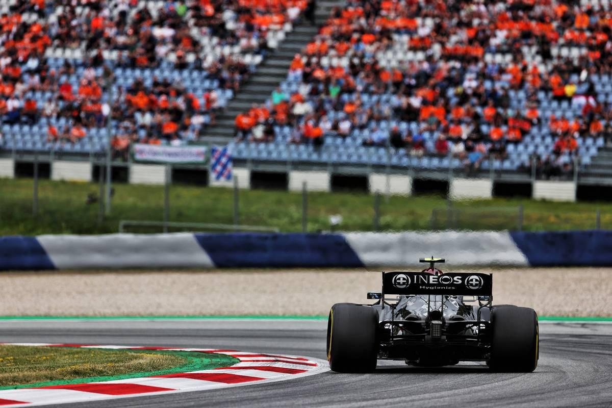 Valtteri Bottas (FIN) Mercedes AMG F1 W12. 02.07.2021. Formula 1 World Championship, Rd 9, Austrian Grand Prix, Spielberg