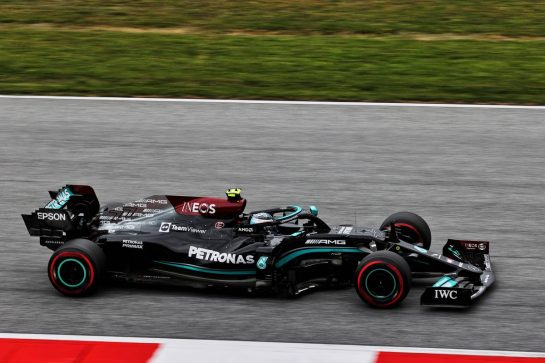 Valtteri Bottas (FIN) Mercedes AMG F1 W12. 02.07.2021. Formula 1 World Championship, Rd 9, Austrian Grand Prix, Spielberg, Austria, Practice Day. - www.xpbimages.com, EMail: requests@xpbimages.com © Copyright: Batchelor / XPB Images