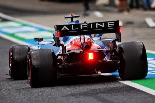 Fernando Alonso (ESP) Alpine F1 Team A521. 02.07.2021. Formula 1 World Championship, Rd 9, Austrian Grand Prix, Spielberg, Austria, Practice Day. - www.xpbimages.com, EMail: requests@xpbimages.com © Copyright: Moy / XPB Images
