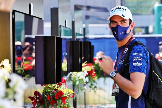 Nicholas Latifi (CDN) Williams Racing. 03.07.2021. Formula 1 World Championship, Rd 9, Austrian Grand Prix, Spielberg, Austria, Qualifying Day. - www.xpbimages.com, EMail: requests@xpbimages.com © Copyright: Batchelor / XPB Images