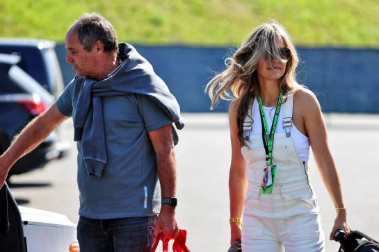 Gerhard Berger (AUT). 03.07.2021. Formula 1 World Championship, Rd 9, Austrian Grand Prix, Spielberg, Austria, Qualifying Day. - www.xpbimages.com, EMail: requests@xpbimages.com © Copyright: Batchelor / XPB Images