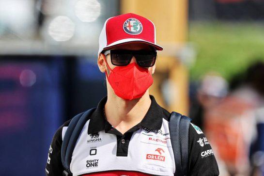 Antonio Giovinazzi (ITA) Alfa Romeo Racing. 03.07.2021. Formula 1 World Championship, Rd 9, Austrian Grand Prix, Spielberg, Austria, Qualifying Day. - www.xpbimages.com, EMail: requests@xpbimages.com © Copyright: Moy / XPB Images