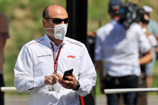 Valentino Ferrari (ITA) F1. 03.07.2021. Formula 1 World Championship, Rd 9, Austrian Grand Prix, Spielberg, Austria, Qualifying Day. - www.xpbimages.com, EMail: requests@xpbimages.com © Copyright: Moy / XPB Images