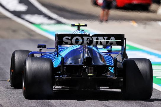Nicholas Latifi (CDN) Williams Racing FW43B. 03.07.2021. Formula 1 World Championship, Rd 9, Austrian Grand Prix, Spielberg, Austria, Qualifying Day. - www.xpbimages.com, EMail: requests@xpbimages.com © Copyright: Moy / XPB Images