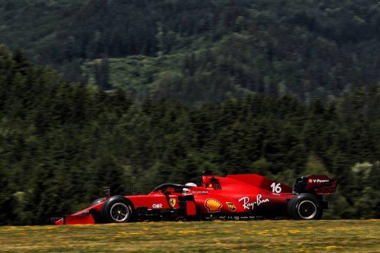 Charles Leclerc (MON) Ferrari SF-21. 03.07.2021. Formula 1 World Championship, Rd 9, Austrian Grand Prix, Spielberg, Austria, Qualifying Day. - www.xpbimages.com, EMail: requests@xpbimages.com © Copyright: Batchelor / XPB Images