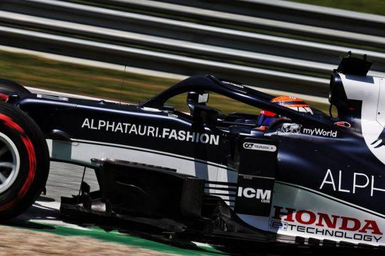 Yuki Tsunoda (JPN) AlphaTauri AT02. 03.07.2021. Formula 1 World Championship, Rd 9, Austrian Grand Prix, Spielberg, Austria, Qualifying Day. - www.xpbimages.com, EMail: requests@xpbimages.com © Copyright: Batchelor / XPB Images