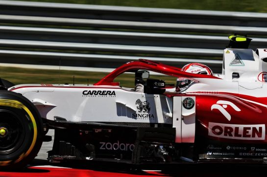 Antonio Giovinazzi (ITA) Alfa Romeo Racing C41. 03.07.2021. Formula 1 World Championship, Rd 9, Austrian Grand Prix, Spielberg, Austria, Qualifying Day. - www.xpbimages.com, EMail: requests@xpbimages.com © Copyright: Batchelor / XPB Images