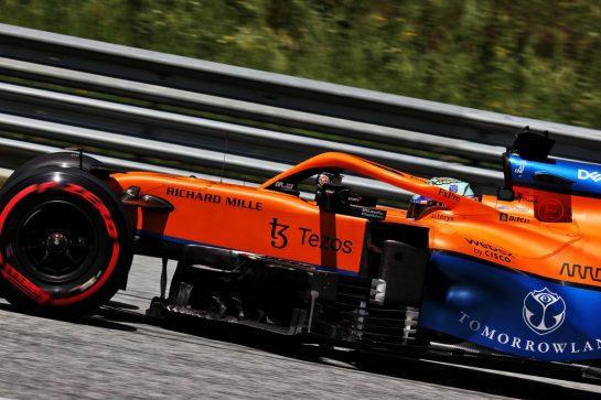 Daniel Ricciardo (AUS) McLaren MCL35M. 03.07.2021. Formula 1 World Championship, Rd 9, Austrian Grand Prix, Spielberg, Austria, Qualifying Day. - www.xpbimages.com, EMail: requests@xpbimages.com © Copyright: Batchelor / XPB Images