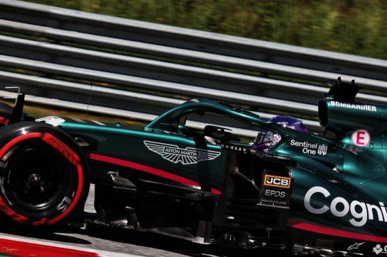 Lance Stroll (CDN) Aston Martin F1 Team AMR21. 03.07.2021. Formula 1 World Championship, Rd 9, Austrian Grand Prix, Spielberg, Austria, Qualifying Day. - www.xpbimages.com, EMail: requests@xpbimages.com © Copyright: Batchelor / XPB Images