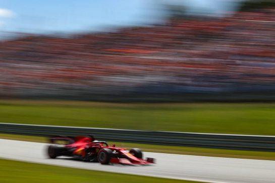 Charles Leclerc (FRA), Scuderia Ferrari 03.07.2021. Formula 1 World Championship, Rd 9, Austrian Grand Prix, Spielberg, Austria, Qualifying Day.- www.xpbimages.com, EMail: requests@xpbimages.com © Copyright: Charniaux / XPB Images
