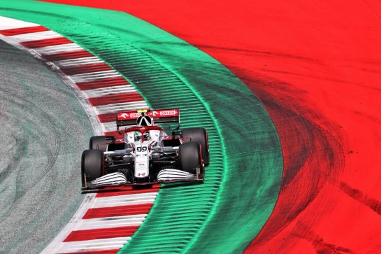 Antonio Giovinazzi (ITA) Alfa Romeo Racing C41. 03.07.2021. Formula 1 World Championship, Rd 9, Austrian Grand Prix, Spielberg, Austria, Qualifying Day. - www.xpbimages.com, EMail: requests@xpbimages.com © Copyright: Charniaux / XPB Images