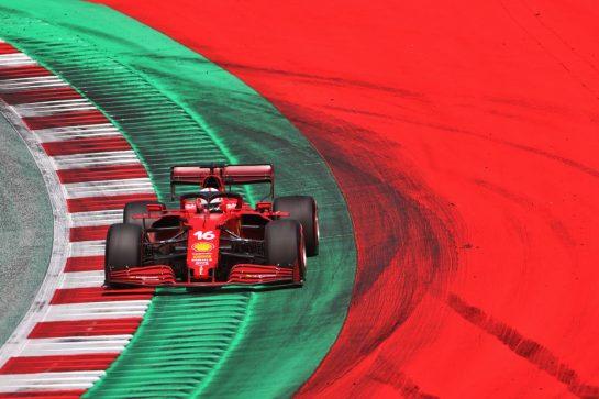 Charles Leclerc (MON) Ferrari SF-21. 03.07.2021. Formula 1 World Championship, Rd 9, Austrian Grand Prix, Spielberg, Austria, Qualifying Day. - www.xpbimages.com, EMail: requests@xpbimages.com © Copyright: Charniaux / XPB Images
