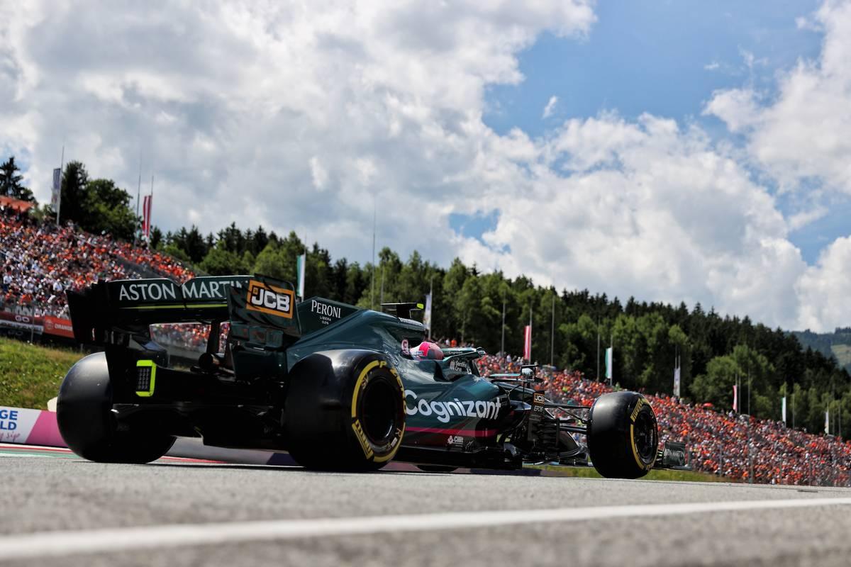 Sebastian Vettel (GER) Aston Martin F1 Team AMR21. 03.07.2021. Formula 1 World Championship, Rd 9, Austrian Grand Prix, Spielberg