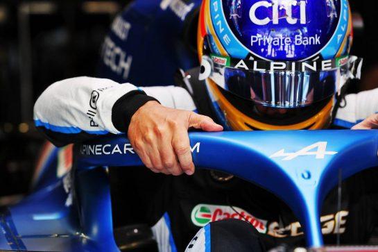 Fernando Alonso (ESP) Alpine F1 Team A521. 03.07.2021. Formula 1 World Championship, Rd 9, Austrian Grand Prix, Spielberg, Austria, Qualifying Day. - www.xpbimages.com, EMail: requests@xpbimages.com © Copyright: Moy / XPB Images