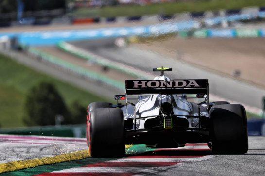 Pierre Gasly (FRA) AlphaTauri AT02. 03.07.2021. Formula 1 World Championship, Rd 9, Austrian Grand Prix, Spielberg, Austria, Qualifying Day. - www.xpbimages.com, EMail: requests@xpbimages.com © Copyright: Batchelor / XPB Images