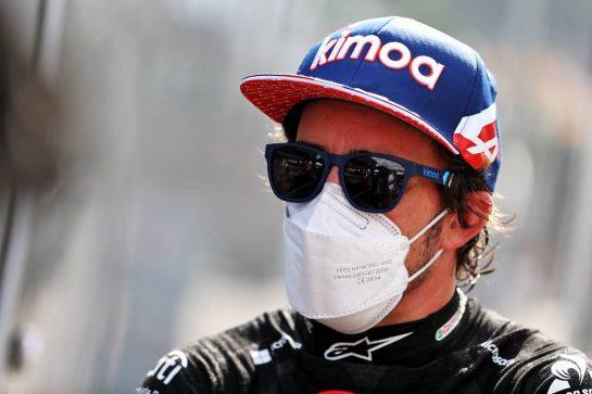 Fernando Alonso (ESP) Alpine F1 Team. 03.07.2021. Formula 1 World Championship, Rd 9, Austrian Grand Prix, Spielberg, Austria, Qualifying Day. - www.xpbimages.com, EMail: requests@xpbimages.com © Copyright: Moy / XPB Images