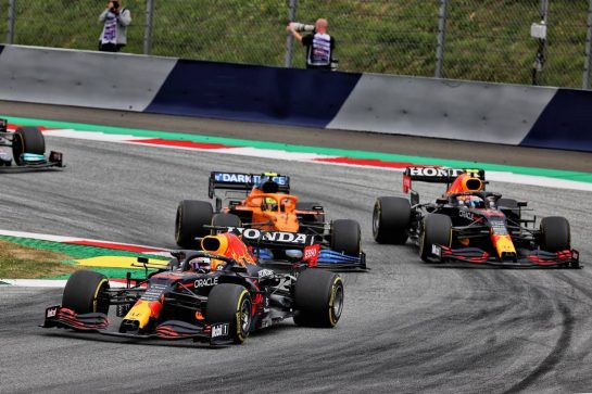 Max Verstappen (NLD) Red Bull Racing RB16B. 04.07.2021. Formula 1 World Championship, Rd 9, Austrian Grand Prix, Spielberg, Austria, Race Day. - www.xpbimages.com, EMail: requests@xpbimages.com © Copyright: Batchelor / XPB Images