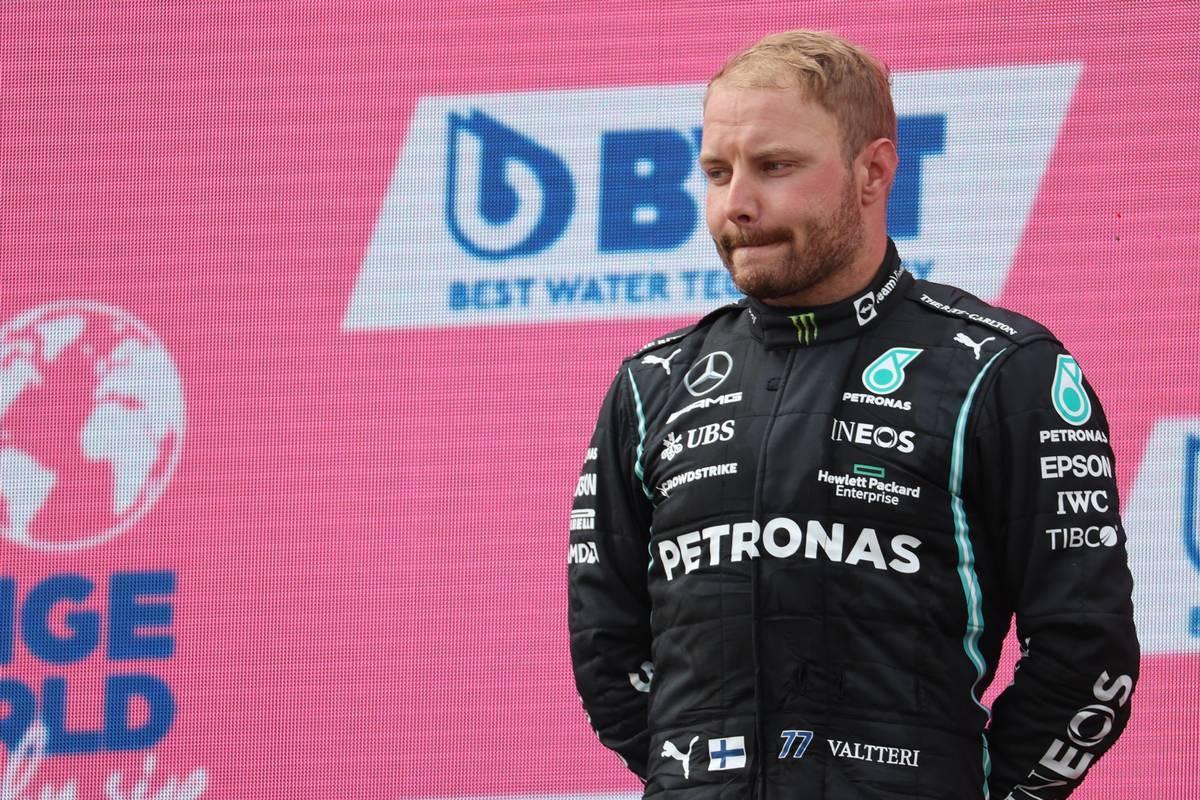 2nd place Valtteri Bottas (FIN) Mercedes AMG F1. 04.07.2021. Formula 1 World Championship, Rd 9, Austrian Grand Prix, Spielberg