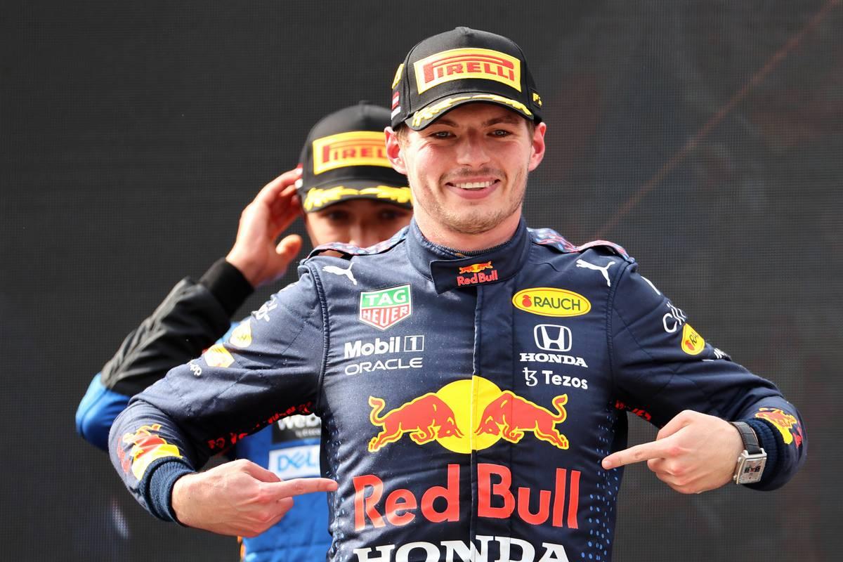 1st place Max Verstappen (NLD) Red Bull Racing. 04.07.2021. Formula 1 World Championship, Rd 9, Austrian Grand Prix, Spielberg