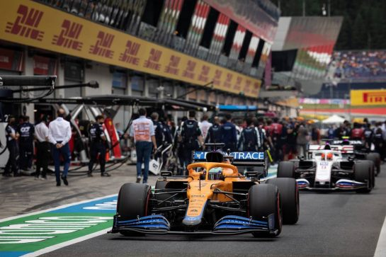 Daniel Ricciardo (AUS) McLaren MCL35M. 04.07.2021. Formula 1 World Championship, Rd 9, Austrian Grand Prix, Spielberg, Austria, Race Day. - www.xpbimages.com, EMail: requests@xpbimages.com © Copyright: Bearne / XPB Images