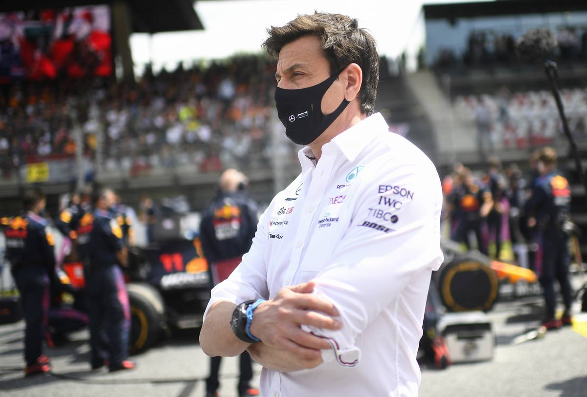 Toto Wolff (GER) Mercedes AMG F1 Shareholder and Executive Director on the grid. 04.07.2021. Formula 1 World Championship, Rd 9, Austrian Grand Prix, Spielberg