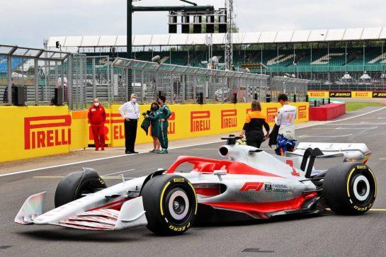 2022 Car Launch. 15.07.2021. Formula 1 World Championship, Rd 10, British Grand Prix, Silverstone, England, Preparation Day. - www.xpbimages.com, EMail: requests@xpbimages.com © Copyright: Batchelor / XPB Images