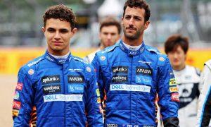 'Still a bit early to compare Lando and Max', says Ricciardo