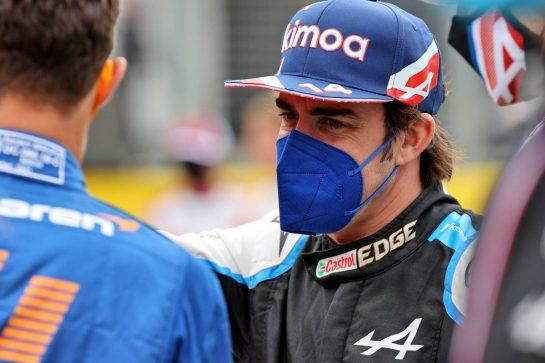 Fernando Alonso (ESP) Alpine F1 Team - 2022 Car Launch. 15.07.2021. Formula 1 World Championship, Rd 10, British Grand Prix, Silverstone, England, Preparation Day. - www.xpbimages.com, EMail: requests@xpbimages.com © Copyright: Batchelor / XPB Images