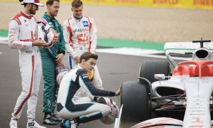British GP: Thursday's build up in pictures