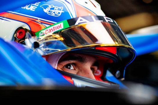 Esteban Ocon (FRA) Alpine F1 Team A521. 15.07.2021. Formula 1 World Championship, Rd 10, British Grand Prix, Silverstone, England, Preparation Day. - www.xpbimages.com, EMail: requests@xpbimages.com © Copyright: Staley / XPB Images