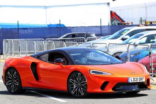 Lando Norris (GBR) McLaren. 16.07.2021. Formula 1 World Championship, Rd 10, British Grand Prix, Silverstone, England, Practice Day.  - www.xpbimages.com, EMail: requests@xpbimages.com © Copyright: Davenport / XPB Images