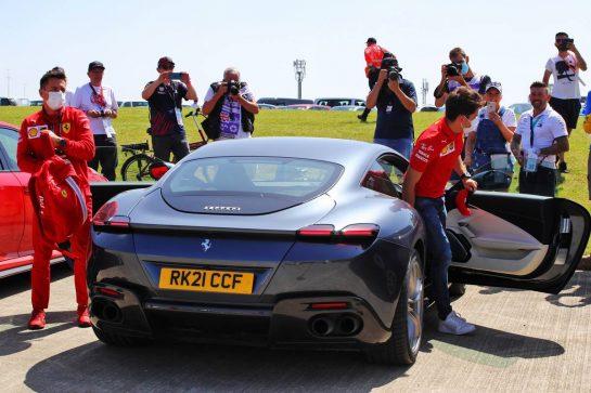 Charles Leclerc (MON) Ferrari. 16.07.2021. Formula 1 World Championship, Rd 10, British Grand Prix, Silverstone, England, Practice Day.  - www.xpbimages.com, EMail: requests@xpbimages.com © Copyright: Davenport / XPB Images