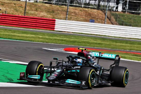 Valtteri Bottas (FIN) Mercedes AMG F1 W12. 16.07.2021. Formula 1 World Championship, Rd 10, British Grand Prix, Silverstone, England, Practice Day. - www.xpbimages.com, EMail: requests@xpbimages.com © Copyright: Batchelor / XPB Images