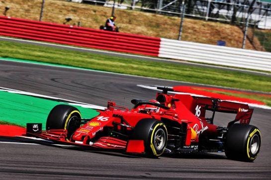 Charles Leclerc (MON) Ferrari SF-21. 16.07.2021. Formula 1 World Championship, Rd 10, British Grand Prix, Silverstone, England, Practice Day. - www.xpbimages.com, EMail: requests@xpbimages.com © Copyright: Batchelor / XPB Images