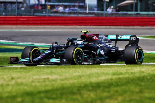 Valtteri Bottas (FIN) Mercedes AMG F1 W12. 16.07.2021. Formula 1 World Championship, Rd 10, British Grand Prix, Silverstone, England, Practice Day.  - www.xpbimages.com, EMail: requests@xpbimages.com © Copyright: Davenport / XPB Images