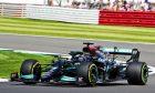 Lewis Hamilton (GBR) Mercedes AMG F1 W12. 16.07.2021. Formula 1 World Championship, Rd 10, British Grand Prix, Silverstone