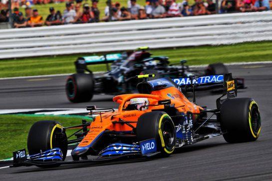 Lando Norris (GBR) McLaren MCL35M. 16.07.2021. Formula 1 World Championship, Rd 10, British Grand Prix, Silverstone, England, Practice Day.  - www.xpbimages.com, EMail: requests@xpbimages.com © Copyright: Davenport / XPB Images