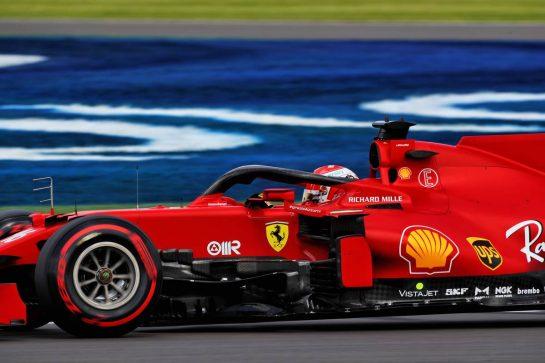 Charles Leclerc (MON) Ferrari SF-21. 16.07.2021. Formula 1 World Championship, Rd 10, British Grand Prix, Silverstone, England, Practice Day.  - www.xpbimages.com, EMail: requests@xpbimages.com © Copyright: Davenport / XPB Images