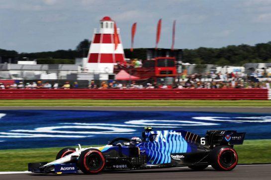 Nicholas Latifi (CDN) Williams Racing FW43B. 16.07.2021. Formula 1 World Championship, Rd 10, British Grand Prix, Silverstone, England, Practice Day.  - www.xpbimages.com, EMail: requests@xpbimages.com © Copyright: Davenport / XPB Images