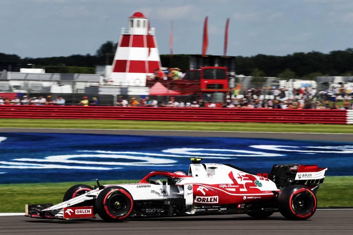 Antonio Giovinazzi (ITA) Alfa Romeo Racing C41. 16.07.2021. Formula 1 World Championship, Rd 10, British Grand Prix, Silverstone