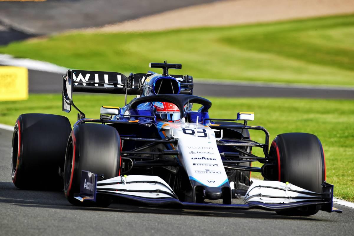 George Russell (GBR) Williams Racing FW43B. 16.07.2021. Formula 1 World Championship, Rd 10, British Grand Prix, Silverstone