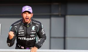 Hamilton seals top spot for Saturday sprint