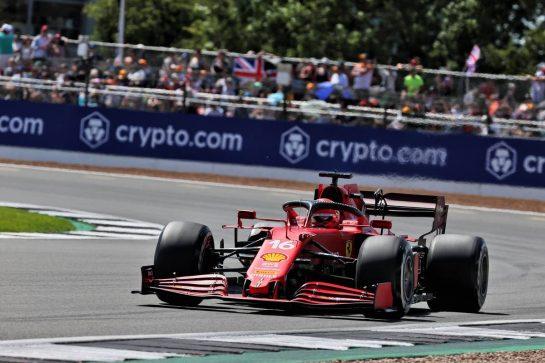 Charles Leclerc (MON) Ferrari SF-21. 17.07.2021. Formula 1 World Championship, Rd 10, British Grand Prix, Silverstone, England, Qualifying Day. - www.xpbimages.com, EMail: requests@xpbimages.com © Copyright: Batchelor / XPB Images