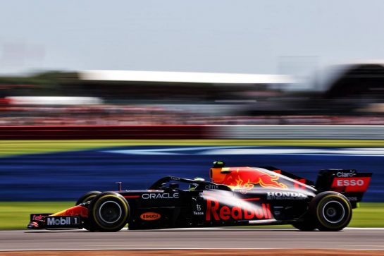 Sergio Perez (MEX) Red Bull Racing RB16B. 17.07.2021. Formula 1 World Championship, Rd 10, British Grand Prix, Silverstone, England, Qualifying Day. - www.xpbimages.com, EMail: requests@xpbimages.com © Copyright: Batchelor / XPB Images