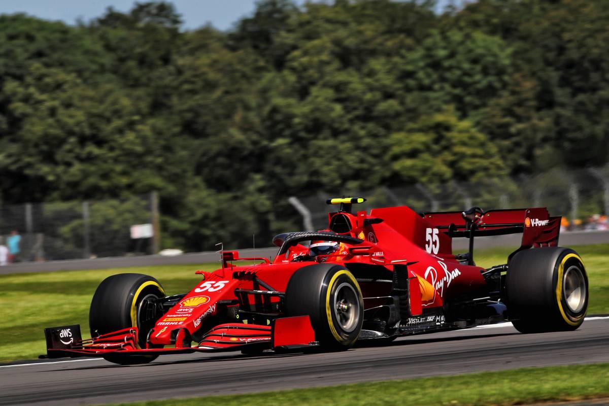 Carlos Sainz Jr (ESP) Ferrari SF-21. 17.07.2021. Formula 1 World Championship, Rd 10, British Grand Prix, Silverstone